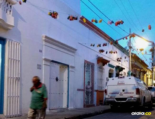 Al lugar llegaron miembros del CTI para realizar el respectivo levantamiento del cadáver | Javid Martínez