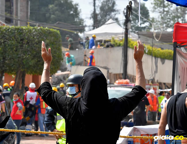 Hasta el momento, el sismo ha dejado unos 225 fallecidos   Omar Torres - AFP