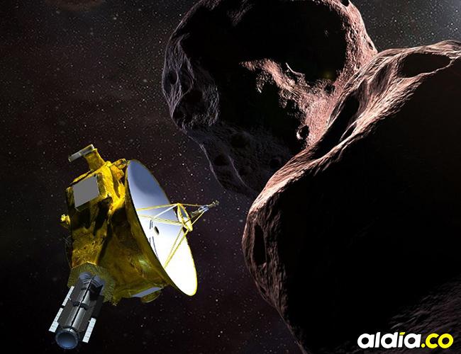 Foto ilustración de la nave espacial New Horizons. AFP