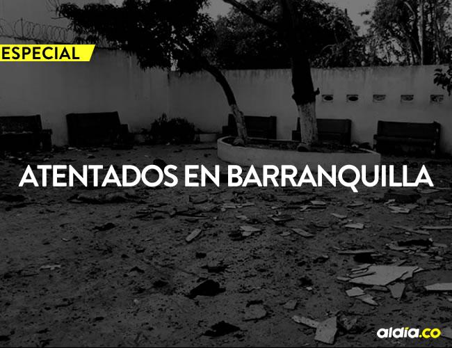 Un recuento de los atentados en barranquilla   ALDÍA.CO