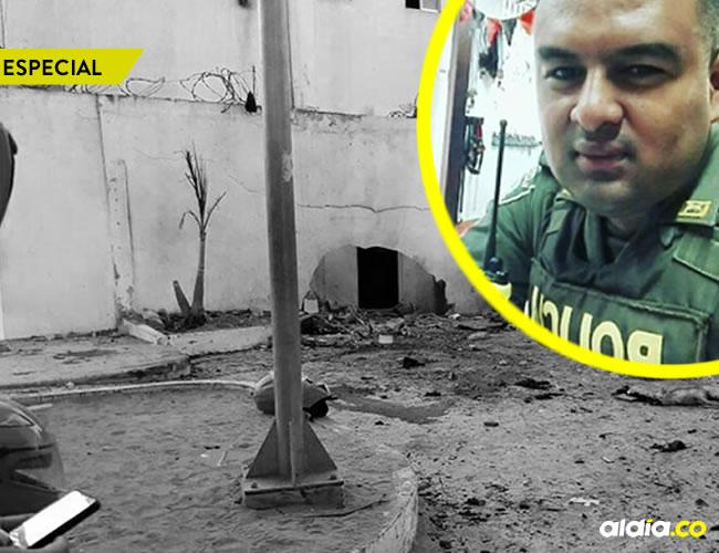 Asi fueron las últimas 24 horas del patrullero Anderson Cano, víctima del atentado del Eln | ALDÍA.CO
