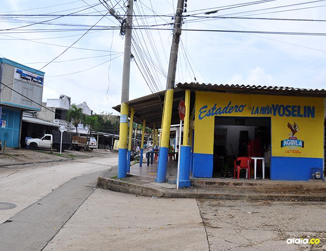Hasta este negocio ubicado en la calle La Bucaramanga llegaron los delincuentes para cometer el robo | Al Día