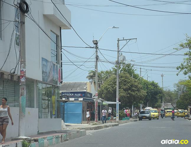 En esta calle de EL Bosque queda el estadero en el cual fue asesinado Jorge Luis. | Al Día