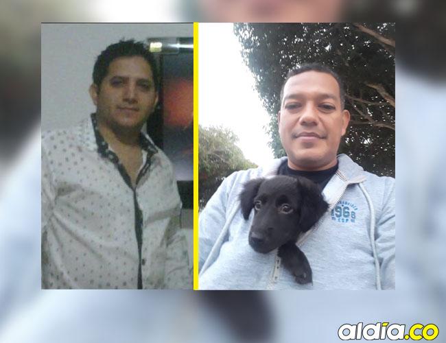 Olaf Campo y Jorge Enrique López, asesinados.