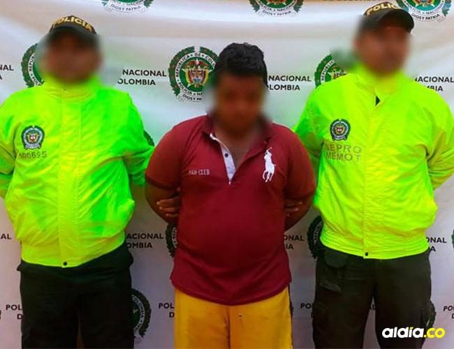 La Policía presentó al presunto violador en Montería. | Al Día
