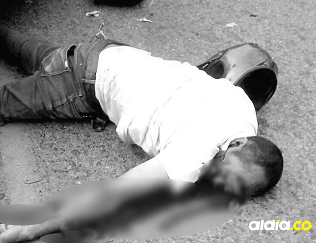 Wilmer Daza murió al ser embestido por un automóvil cuando se desplazaba en motocicleta   Cortesía