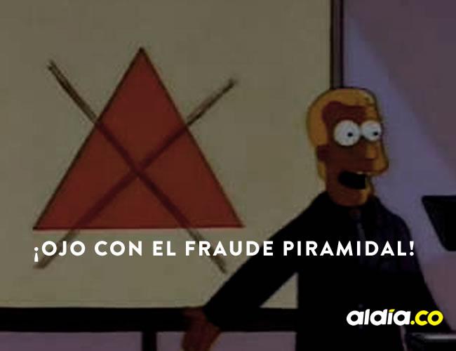 Las pirámides son un problema en la economía colombiana | ALDÍA.CO