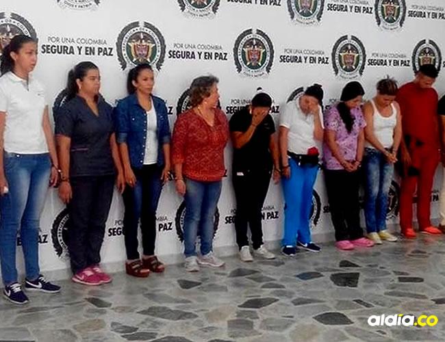 10 funcionarios fueron capturados | Policía de Ibagué