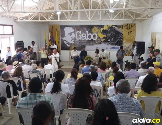 La Casa Museo Gabo en Aracataca fue ayer punto de encuentro en el que se dieron a conocer más detalles de la vida del Nobel. | Cortesía