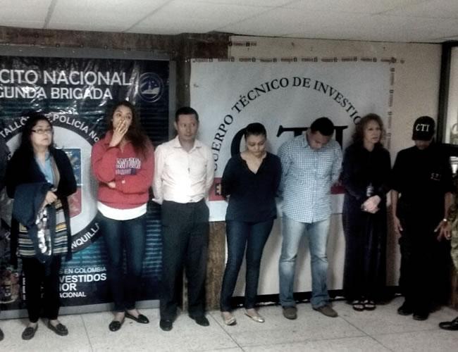 Janeth Vargas Gómez, Kimberly Hutchinson, Eduardo Vargas Gómez, Ruddy Rodríguez, Manuel Banquez y Gloria Hutchinson | Foto: Al Día