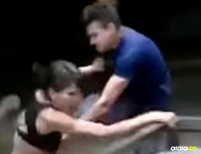 Imágenes de la fuerte golpiza I Captura video