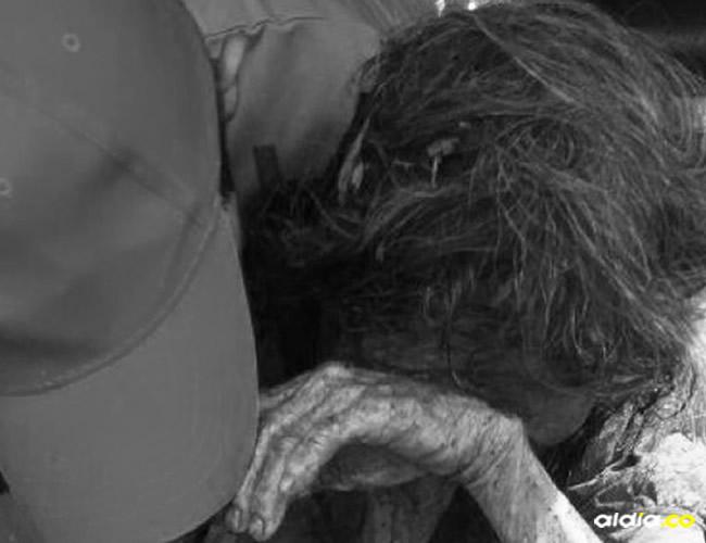La víctima fue  identificada como Elvia Ojeda, de 72 años | Cortesía