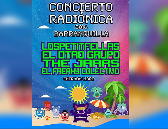 Este sábado 3 de septiembre será el concierto Radiónica | Radiónica