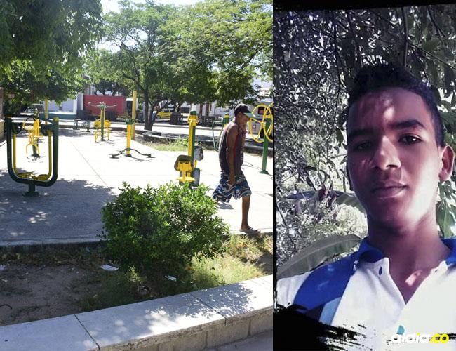 El joven estudiante de Ingeniería Mecánica frecuentemente llegaba al Parque Simón Bolívar para hacer ejercicios.