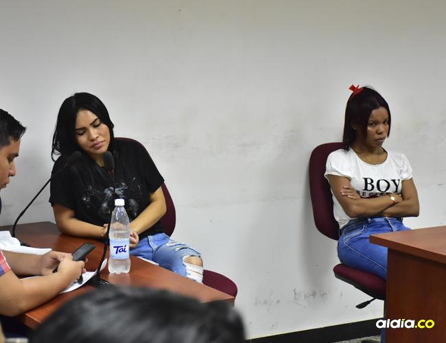 Angélica y Karen Vanegas Mier, de 25 y 22 años respectivamente, no se allanaron a los cargos imputados por la Fiscalía.