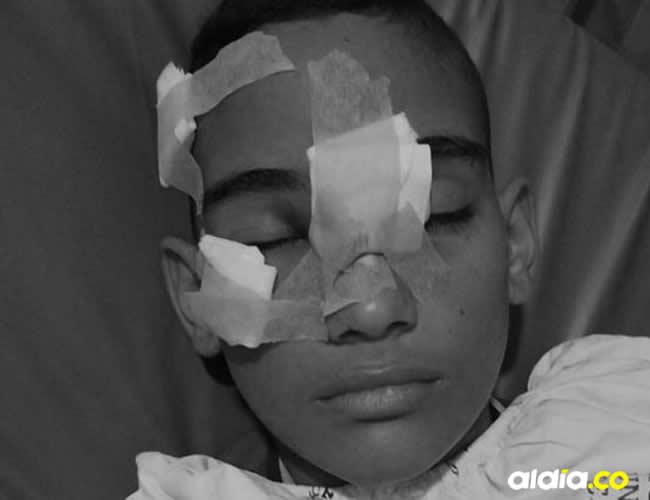 Foto y datos publicados con autorización de la familia del joven víctima del hecho | AL DÍA