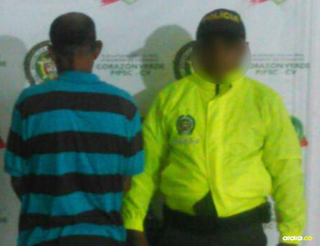 El hombre se encuentra a disposición de la policía en la cárcel San Sebastián de Ternera | AL DÍA