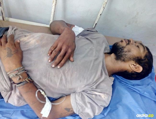 César Gutiérrez Bovea terminó con una herida de bala en un brazo al no dejarse atracar. | Al Día