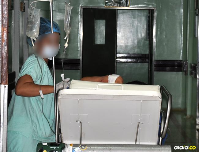 La víctima permanecía ayer en el Hospital Rosario Pumarejo de López, en Valledupar. | Al Día