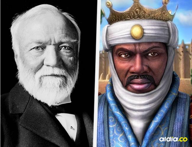 Andrew Carnegie y  Mansa Musa | ALDÍA.CO