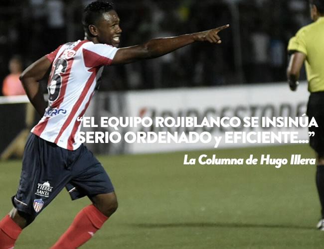 Robinson Aponzá empezó con pie derecho su camino en el Junior | Cristian Mercado