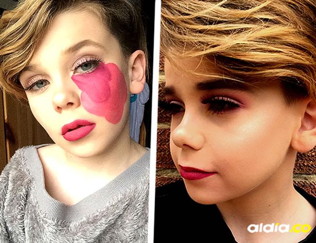 Jack en su canal de YouTube hace tutoriales sobre belleza | Instagram