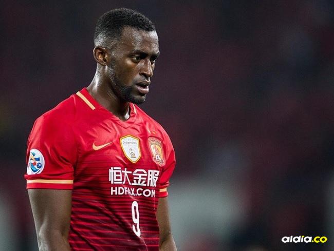 Martínez jugó 15 partidos con el Guangzhou y anotó cuatro goles. | Al Día