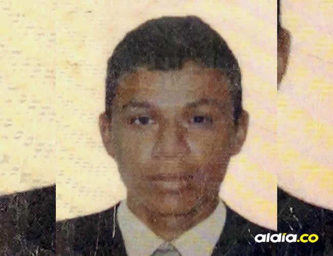 Jorge Domingo Ruiz Martínez, de 26 años, fue asesinado este jueves, en Galeras, Sucre | Luis Guillermo Castillo