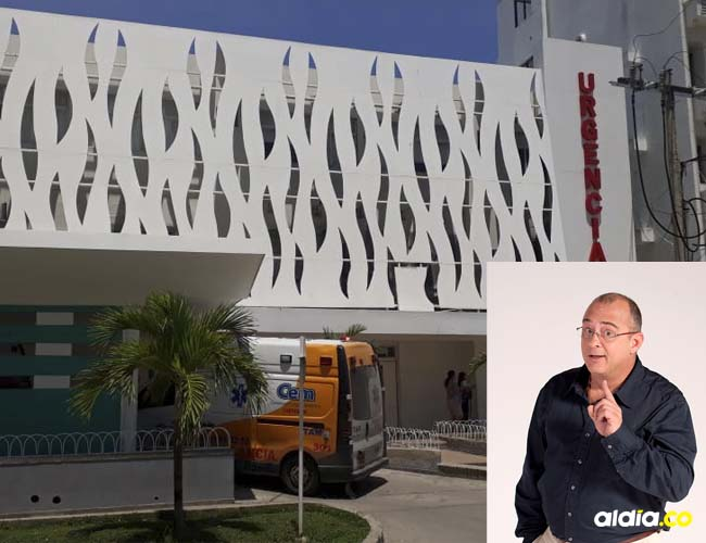 En la UCI del Hospital de Bocagrande en Cartagena permanece recluido el reconocido presentador.