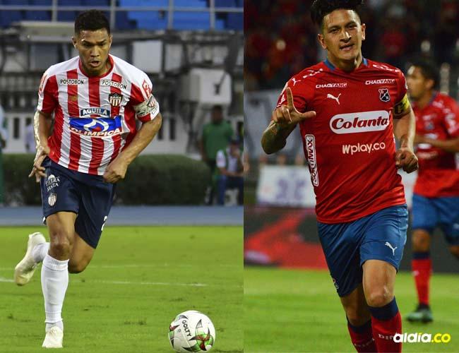 Teófilo Gutiérrez y Germán Cano.