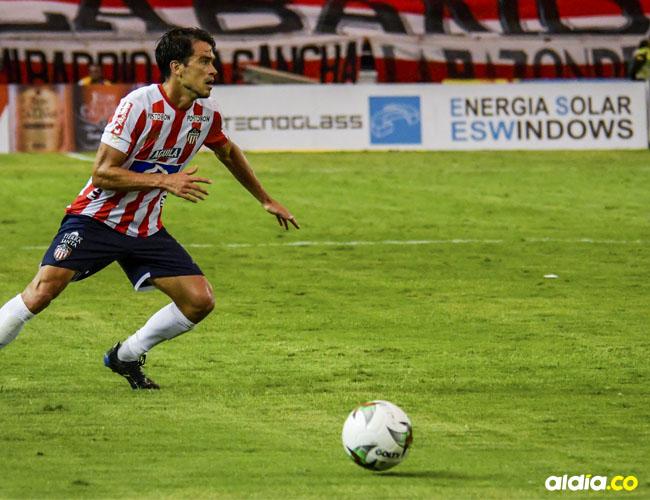 Sebastián Hernández sería parte de los titulares de Junior ante Pasto.
