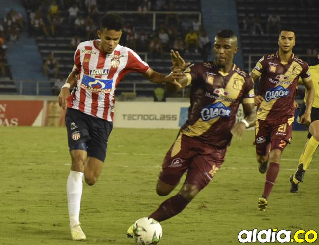 Junior y Tolima se vieron las caras el domingo pasado en el Metropolitano Roberto Meléndez e igualaron 1-1. Hoy se enfrentarán nuevamente en casa de los Pijaos.