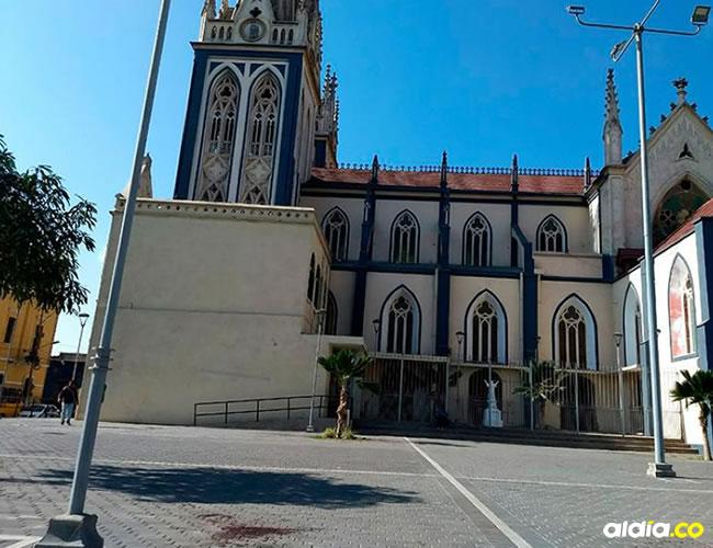 En la plaza San Roque quedaron rastros de sangre de la víctima   Al Día