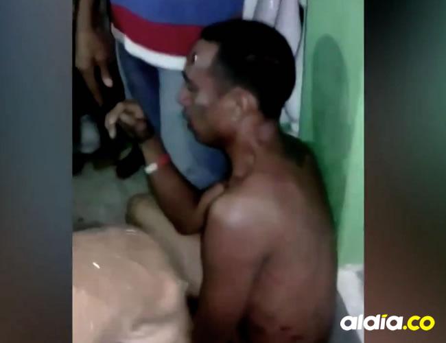 Los habitantes del sector tomaron la justicia por su propia mano en contra de este presunto ladrón | Captura de pantalla