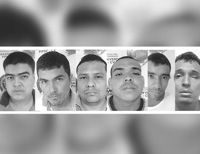 Seis capturados por la policía eran expertos en robo a bancos | Foto : Al Día