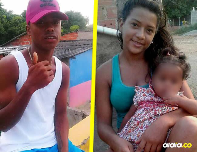 Francisco Javier Quiñones Julio, de 19 años y Yulimar Carolina Hidalgo Velásquez, 17 años | Al Día