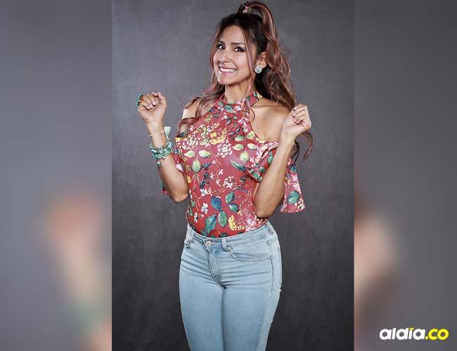 Aída Bossa, versátil actriz cartagenera que vuelve a ser 'Patty' en 'El man es Germán'.