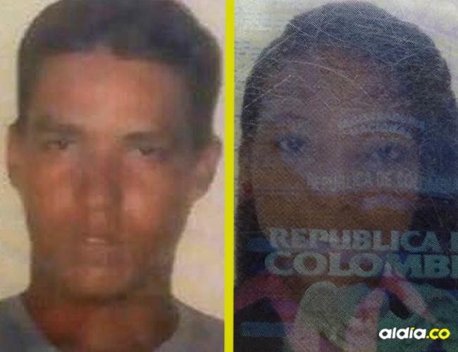 Jorge Luis Morales, agresor y Milena Andrea De Alba Freyle, víctima. | Al Día