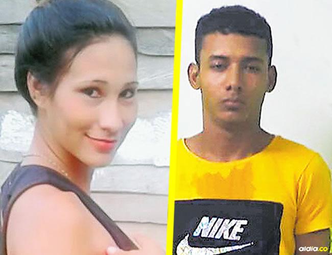Mily Margarita Bracamonte Herrera, la joven herida y Alex Molina Mejía, alias 'Pipo', el joven que baleó a Mily.   AL DÍA