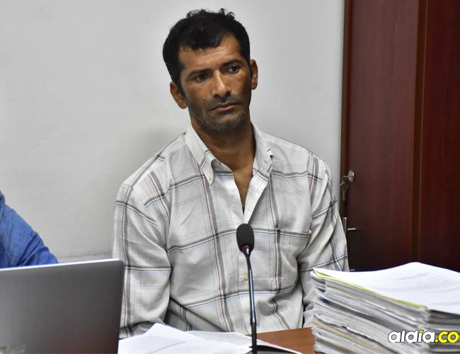 Juan Gabriel Padilla López, de 43 años, de ocupación obrero, reside en la invasión Familias Unidas de Valledupar.