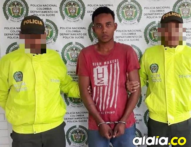 El cuerpo tendido de Carlos Figueroa fue encontrado en límites con la zona rural de San Onofre la madrugada de ayer. Días antes la Policía judicial (Sijín) lo capturó por receptación.