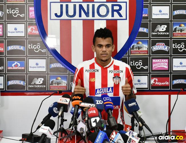 Luis Díaz renovó contrato con Junior.
