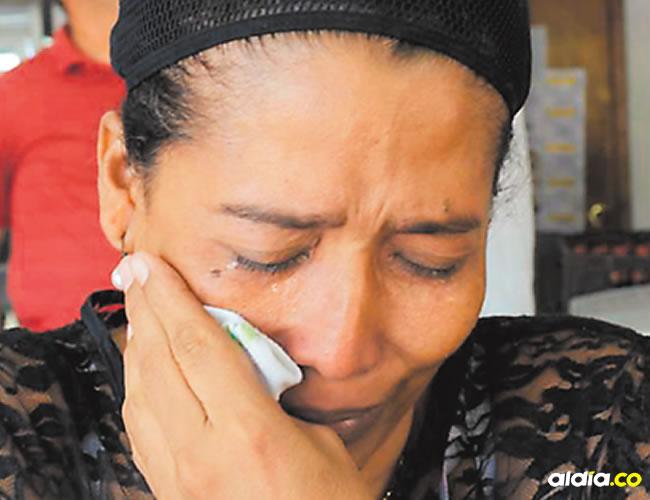 Candelaria, madre de uno de los policías fallecidos asegura que la muerte le impidió estudiar derecho. | Al Día