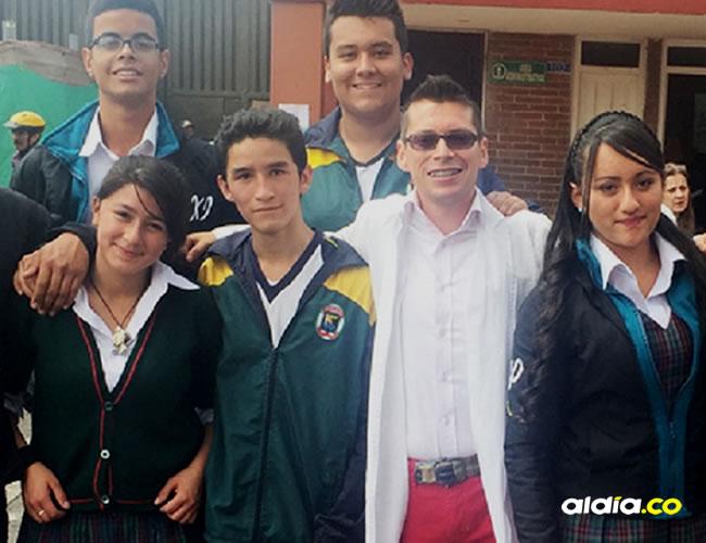Luis Miguel Bermúdez es maestro del colegio Gerardo Paredes, en Bogotá | Fundación Compartir
