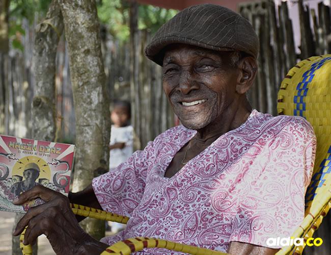 Este artista de 96 años, oriundo de Gamero (Bolívar),  el martes recibió el Premio Vida y Obra del Ministerio de Cultura | Lorena Henriquez