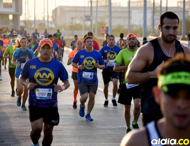 La Media Maratón Barranquilla arrancará desde las 5 a. m. en el Gran Malecón del Río.