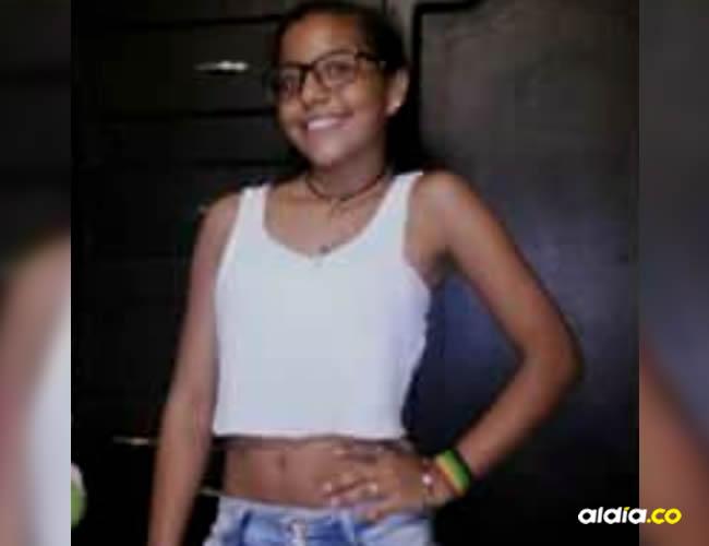 Sharon Melissa Aguilar Abrahan, menor desaparecida | Imagen autorizada por sus familiares a ALDÍA.CO