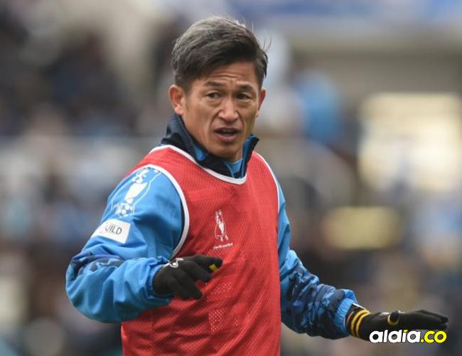 Con 51 años Miura es el fútbolista más viejo del mundo.