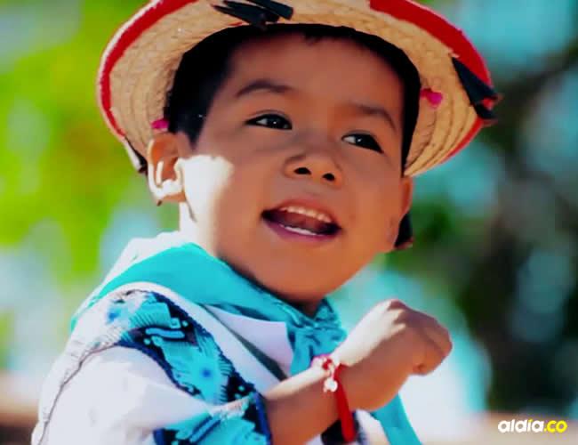 esta versión fue interpretada por el niño wixárika  Yuawi López, de nueve años y nacido en Sierra Alta (Jalisco) | YouTube