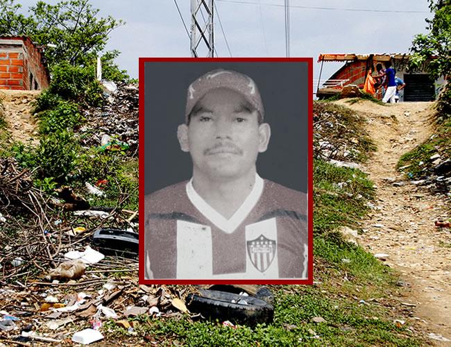 En esta loma situada en la calle 78 con carrera 1Sur, barrio Santa María, fue alcanzado Ricardo Varela Orozco, de 40 años, y agredido por varios sujetos | Foto: Al Día